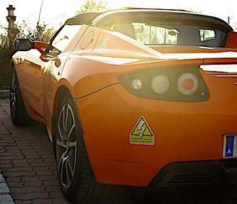 Elektroauto Aufkleber