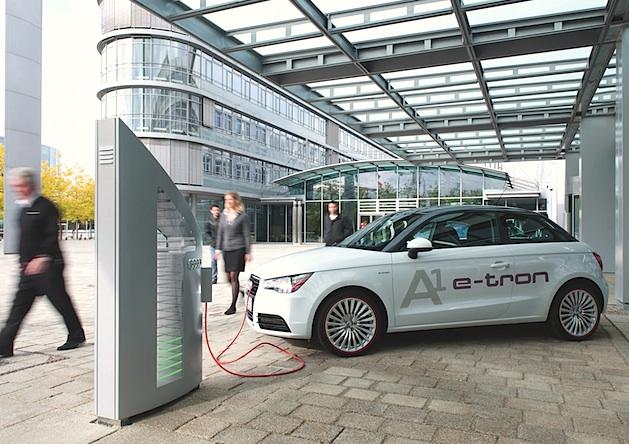 Audi-NEWS: Startschuss für Münchner Pilotprojekt mit 20 Audi A1 e-trons fiel heute!
