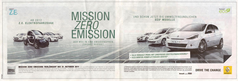 Noch 11 Tage! Bei Renault läuft der Countdown und die Werbekampagne für die neuen Z.E.-Modelle.