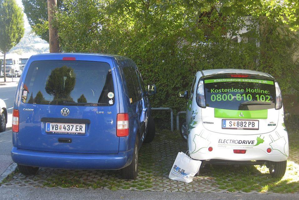 Mein persönlicher iMiEV-Test in Salzburg und Umgebung – schnell waren sie um die 7 Stunden!