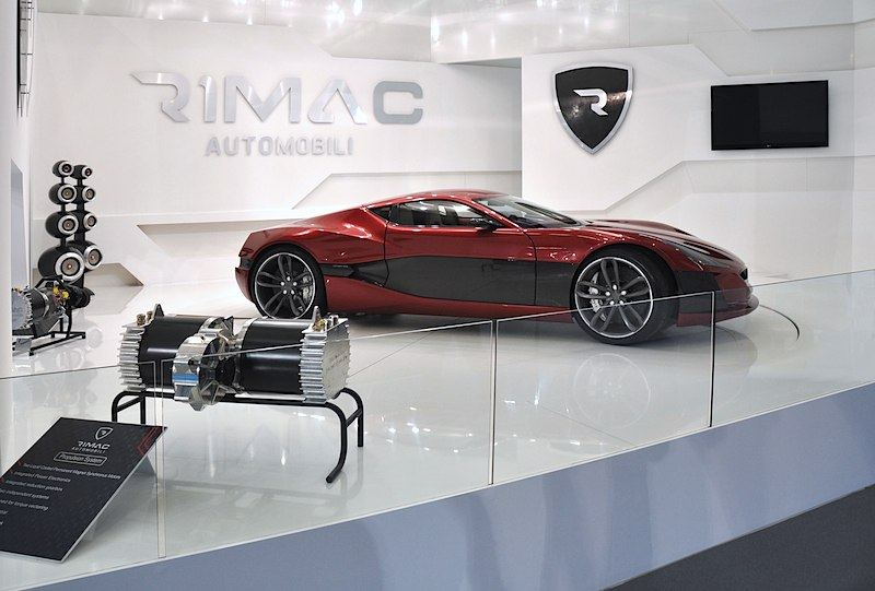 """Rimac präsentiert den Concept_One auf der IAA! Der elektrische """"Bugatti-Killer"""" hat es in sich!"""