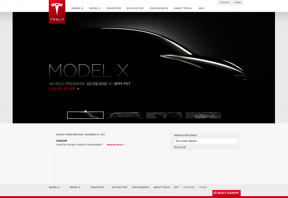 """Tesla präsentiert heute ihr erstes SUV! """"Model X"""" könnte Teslas 3. erfolgreiches Elektroauto werden."""