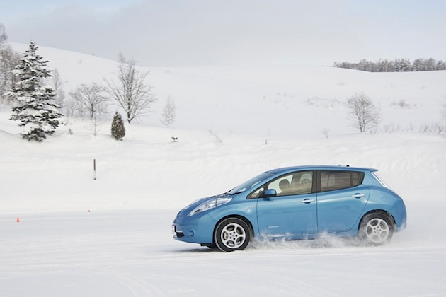 Start frei für den elektrischen Nissan Leaf in Österreich! Kostenpunkt € 37.490,- (exkl. Förderungen)