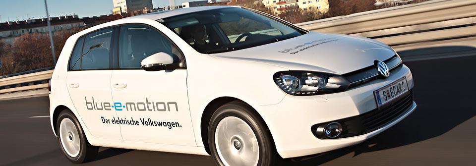 VW Golf Blue-e-Motion wird europaweit getestet. Nach Österreich und Belgien folgt nun Frankreich.