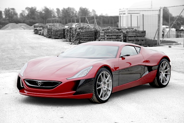 Rimac Concept_One - Elektrosupersportwagen aus Kroatien