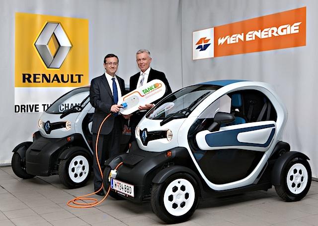 Wien Energie und Renault kooperieren im Bereich der Elektromobilität. Wallbox und Ökostrom inklusive!