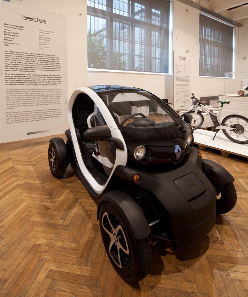 Renault Twizy wird mit Red Dot ausgezeichnet und im MAK/Wien ziert er eine Design-Ausstellung!