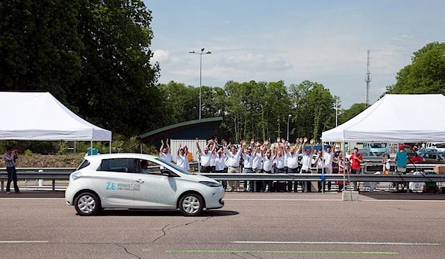 Renault Zoe 24 h Challenge