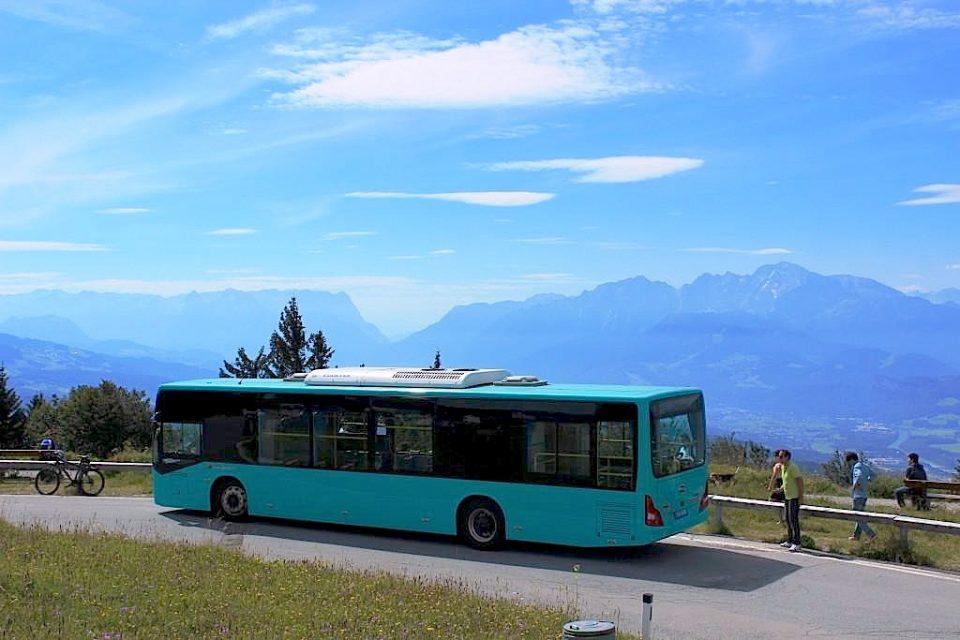 E-Bus Gaisberg Österreich