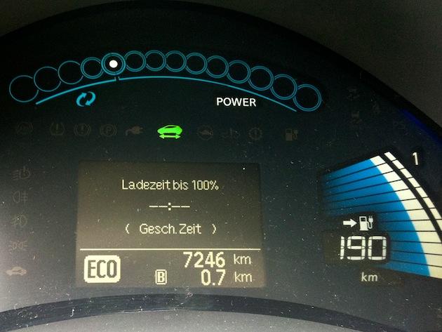 Nissan Leaf ECO-Modus