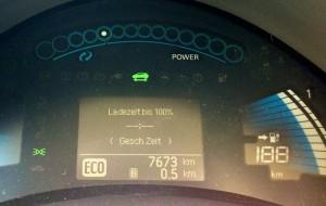 Leaf-Book: Tag 08: Voll aufgeladen – 180 km und mehr? Schön wärs…