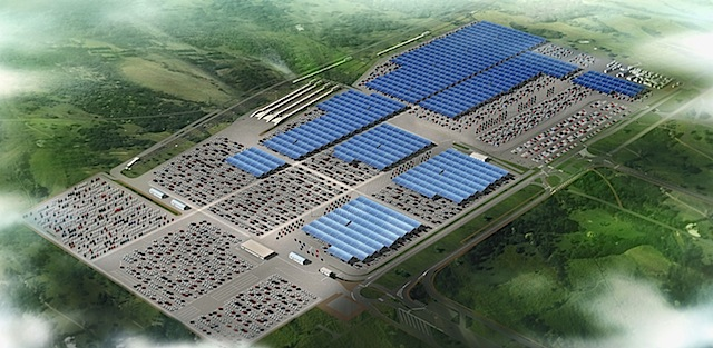 Photovoltaikpark von Douai