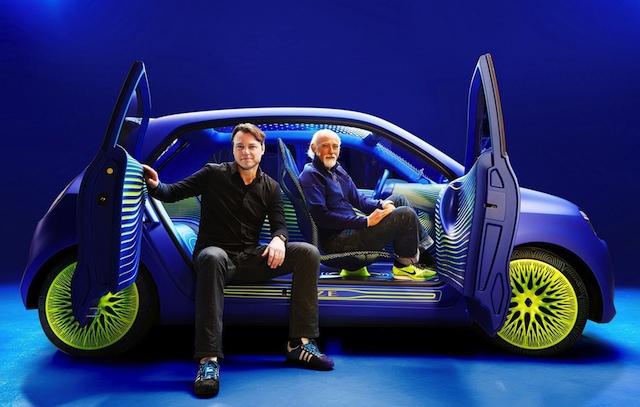 Renault präsentiert neue Elektroauto-Studie auf Möbelmesse in Mailand