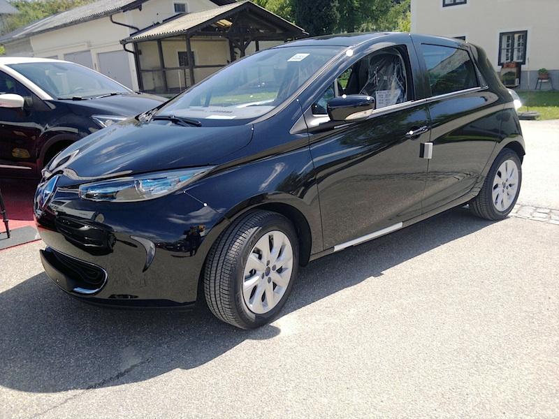 Renault ZOE schwarz