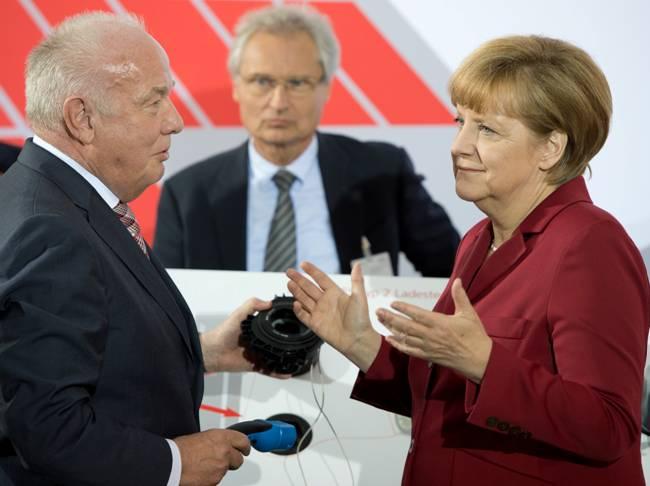 Angelika Merkel und Mennekes