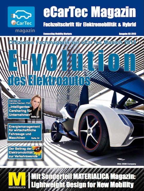 Das neue eCarTec Magazin ist da