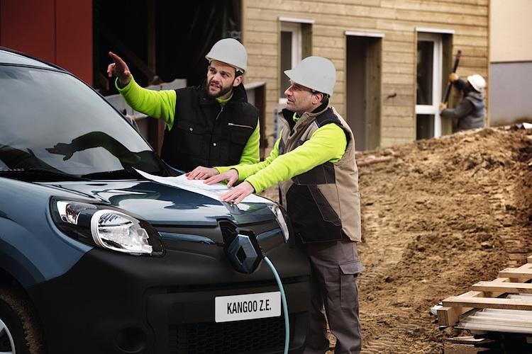Der europäische Transportpreis für Nachhaltigkeit geht an den Renault Kangoo Z.E.