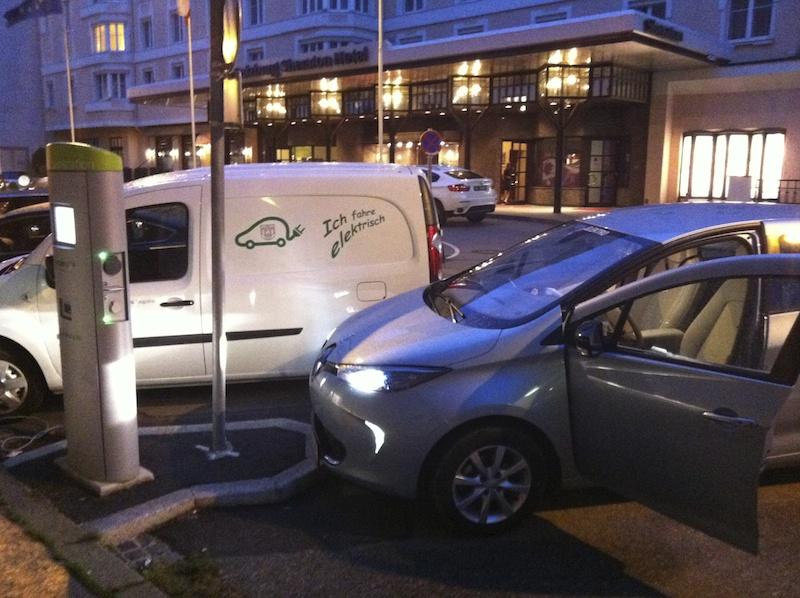 Elektroauto Ladestationen blockieren 503