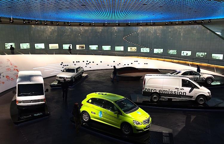 Mercedes Museum zero emission
