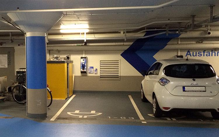 Parken-kostenlos-Laden