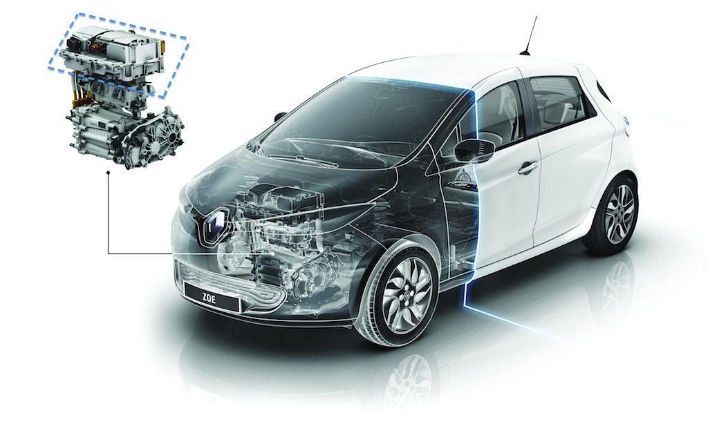 Renault ZOE aufgeschnitten
