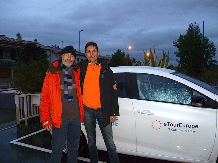 Die eTourEurope 2014: Zurzeit auf Testrunde durch Europa unterwegs