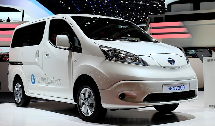 Ab Juli ist der Nissan e-NV200 zu haben: Preise starten bei 20.300 Euro netto