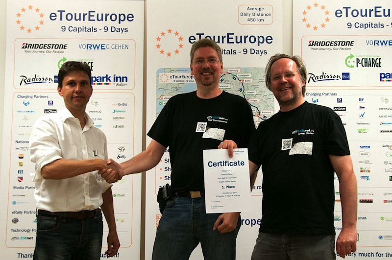 Ergebnis und Auswertung der eTourEurope: Gute alte Technik siegt.