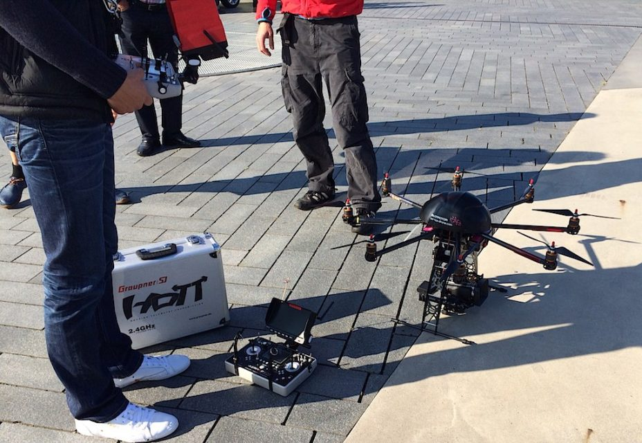 WAVE 2014 Drohne