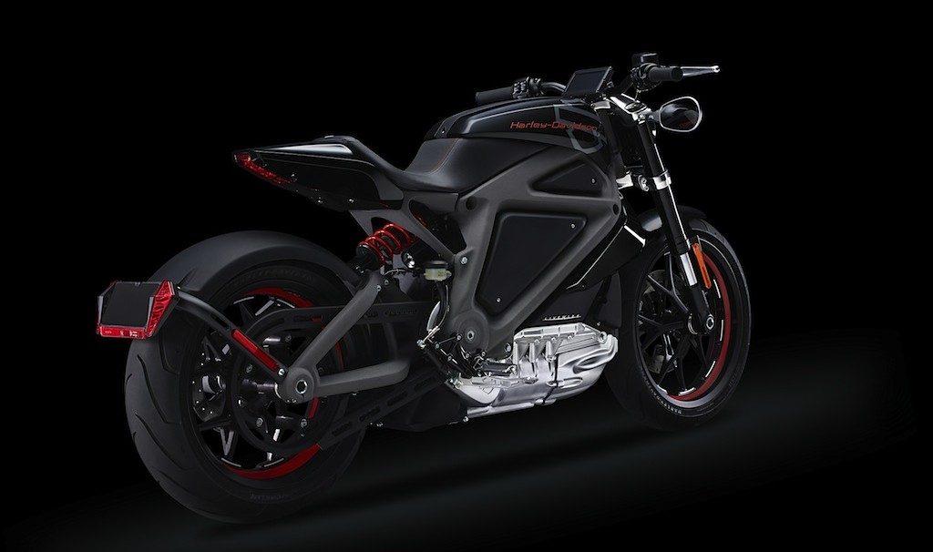 elektrische angetriebene Harley Davidson