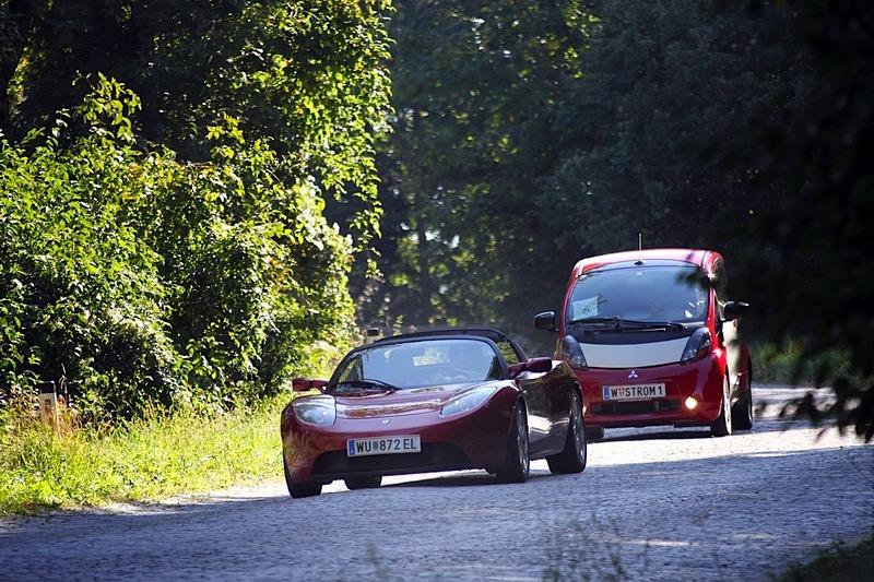Mit dem E-Auto flüsterleise den Wienerwald erkunden