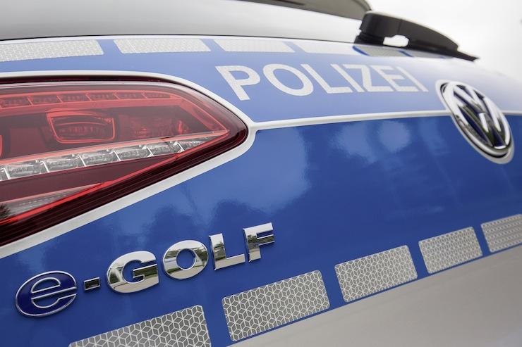 e-Golf für die Polizei