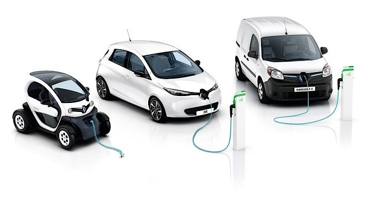 Renault Elektroauto-Flotte