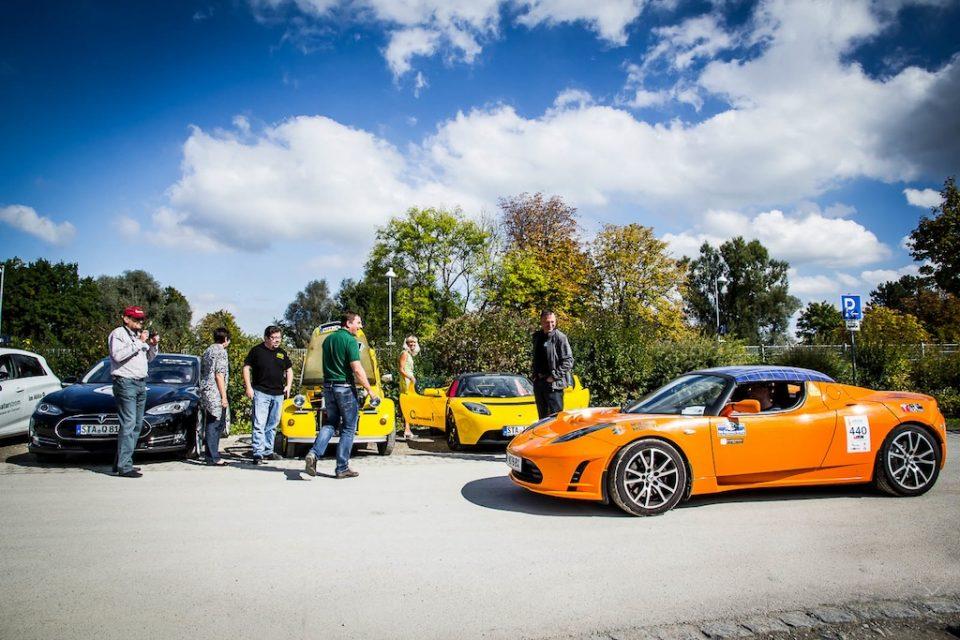 Rekord Beteiligung bei der eRUDA, Deutschlands größter eMobilrundfahrt