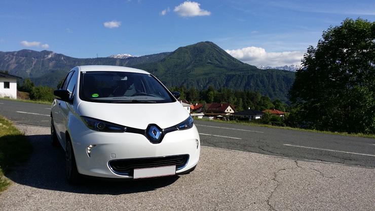 Ein Jahr vollelektrisch unterwegs mit dem Renault ZOE