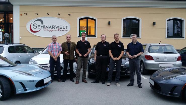Tesla Club Austria Treffen in St. Salvator bei Friesach/Kärnten