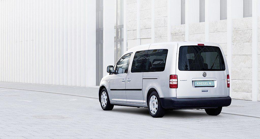 Der Kreisel e-Caddy überzeugt mit 350 km Alltagsreichweite – erhältlich ab Sommer 2015
