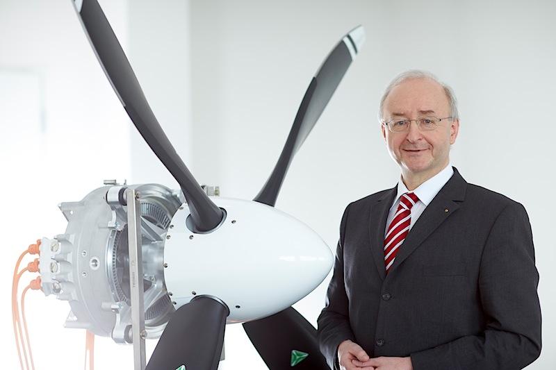 Frank Anton, Leiter eAircraft bei der zentralen Siemens-Forschung Corporate Technology Copyright: Siemens