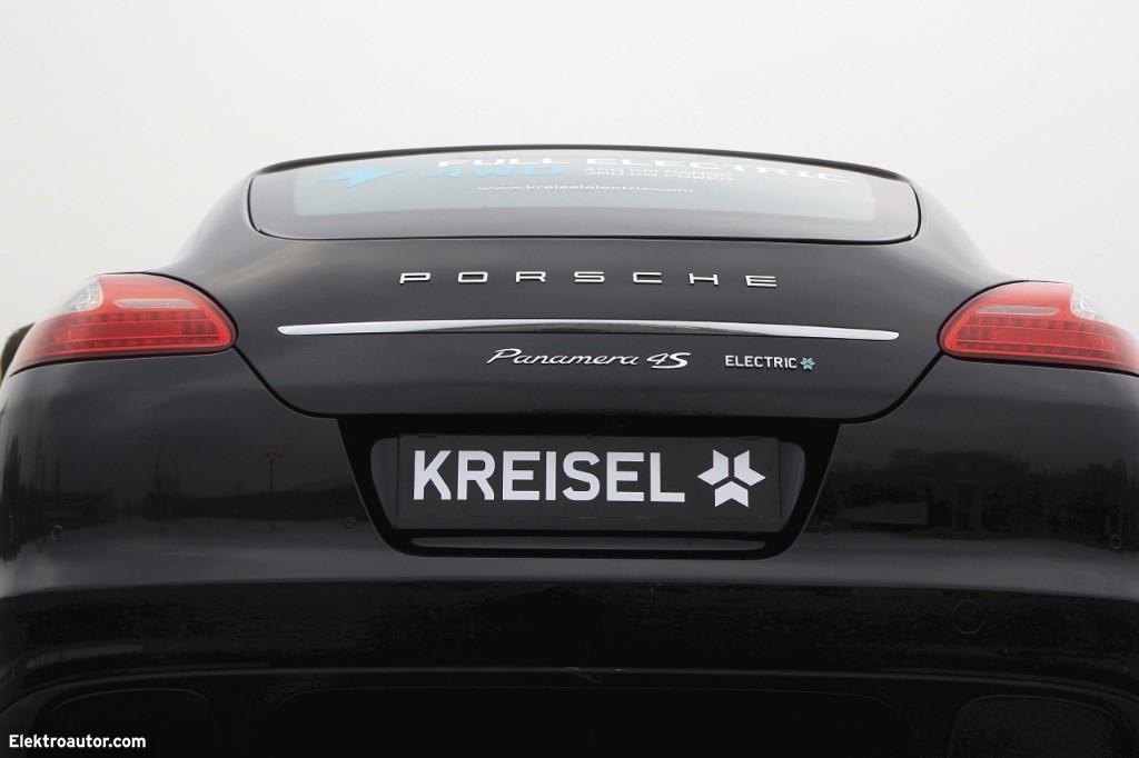 Weltpremiere auf der Automesse Salzburg: Electric Porsche Panamera (Video/Fotos)