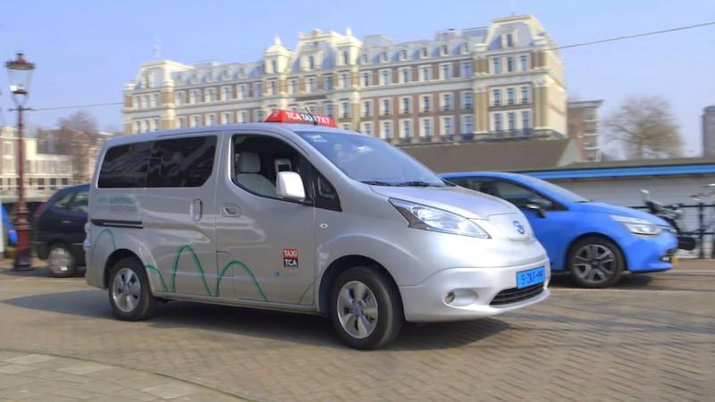 Amsterdam wird zur Metropole der Elektrotaxis