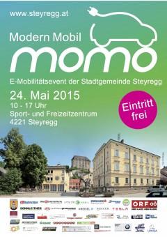 MoMo – Modern Mobil – E-Mobilita?tsevent der Stadtgemeinde Steyregg