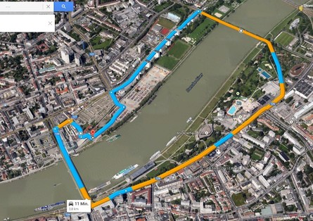 Weltrekordstrecke Linz