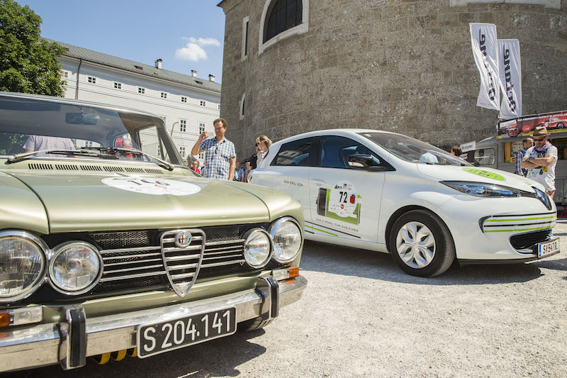 Alt trifft neu: E-Premiere beim Gaisbergrennen 2015