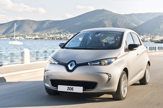 3500 Kilometer mit dem Renault Zoe  Foto: Renault