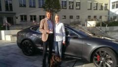 Solarpreis Österreich 2015 geht nach Salzburg zum Elektroauto-Kaiser Richard Absenger