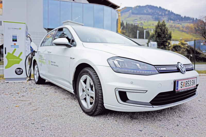 VW e-Golf in Österreich zum Preis vom TDI