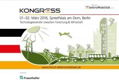 Forum ElektroMobilität – Kongress 2016
