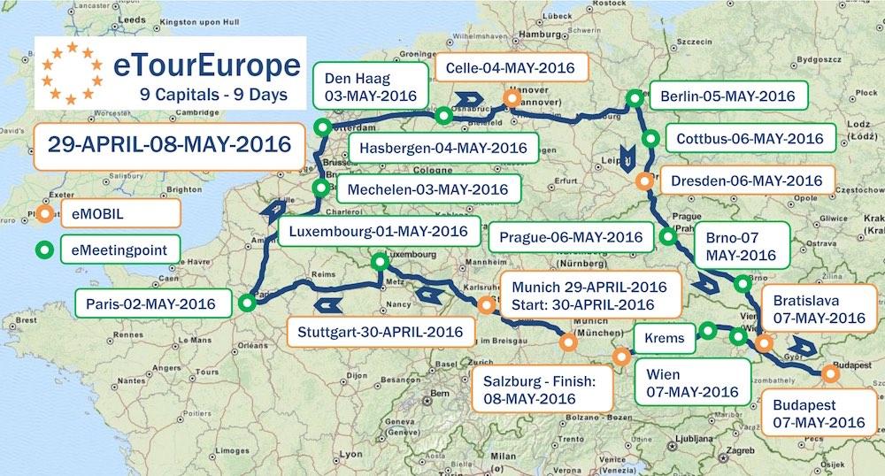 EVENT: eTourEurope 2016 – elektrisiert Europa!