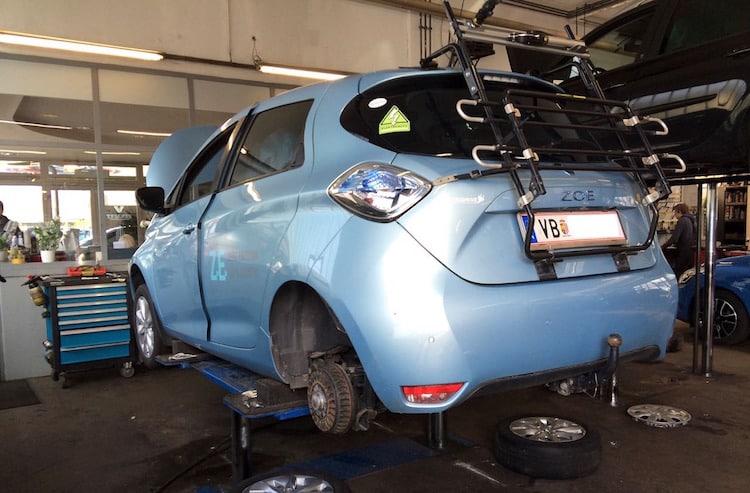 BLOG: Mein Renault ZOE beim Jahresservice + Rückrufaktion in der Praxis