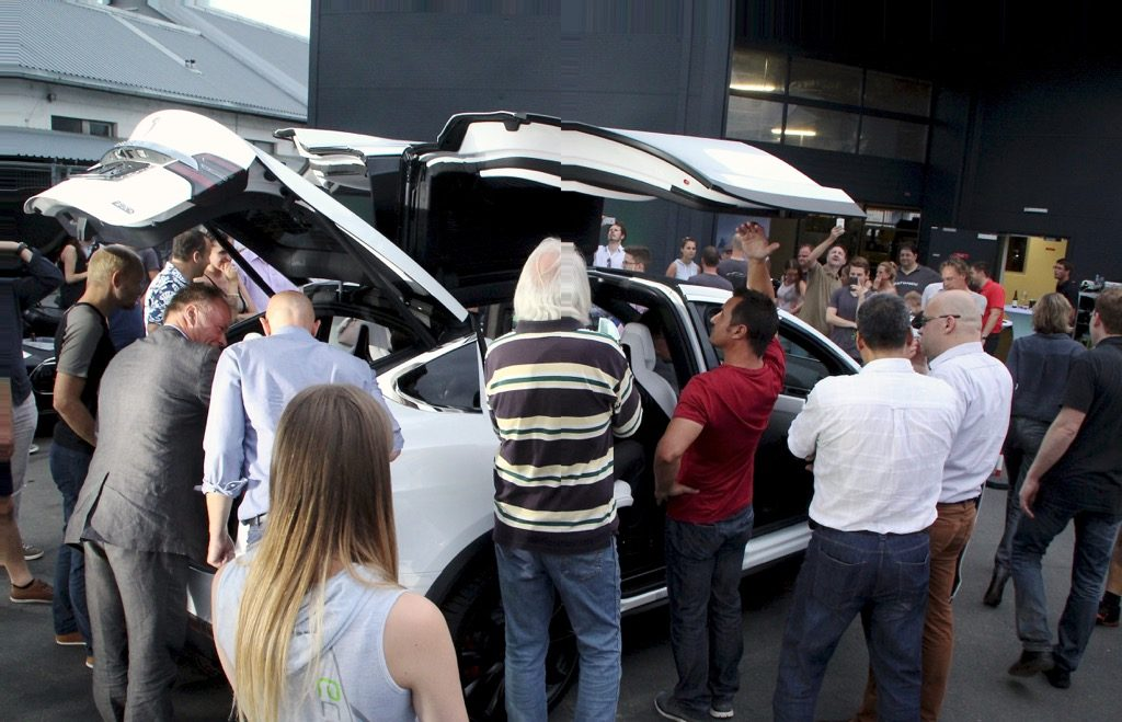 Tesla Model X Praesentation Graz11